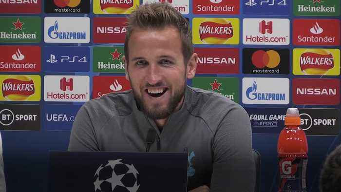 Harry Kane laughs off idea that Spurs players are over-worked