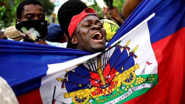 Haiti protests: President Moise under pressure to resign