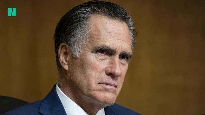 Sen. Mitt Romney Strays From GOP