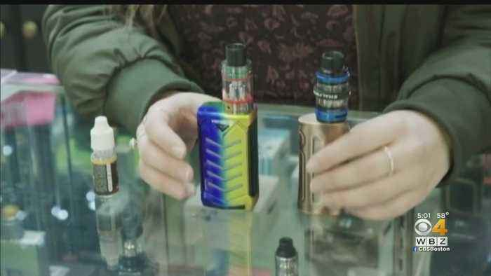 Massachusetts Vaping Sales Ban Can Remain In Place, Judge Rules