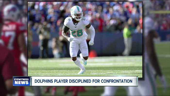 Miami Dolphins player disciplined for confrontation