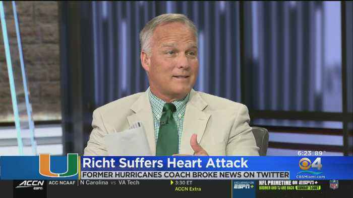 Former Hurricanes Football Head Coach Suffers Heart Attack