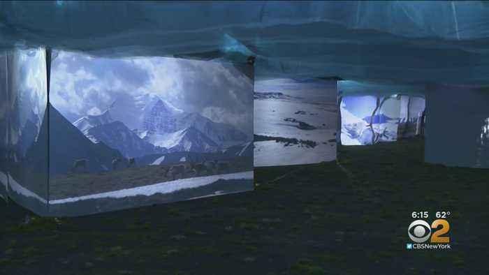 Exhibit In Brooklyn Offers Full-Sensory Virtual Trip To Alaskan Arctic