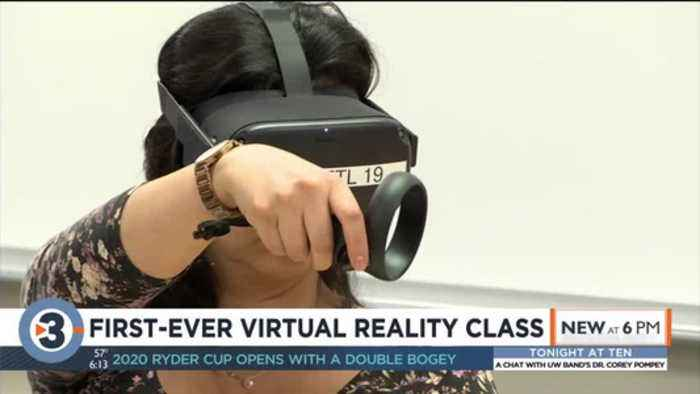 First-ever virtual reality class