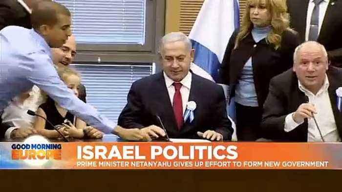 Israel's Benjamin Netanyahu fails to form government