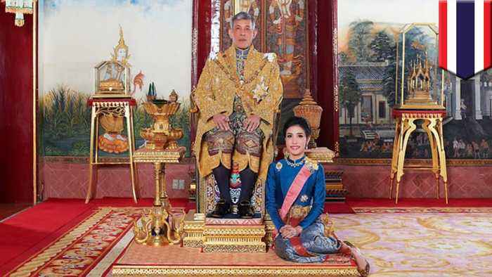 Thai king strips official side piece of royal titles for disloyalty
