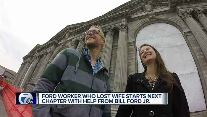 Ford worker who lost wife starts next chapter with help from Bill Ford Jr.