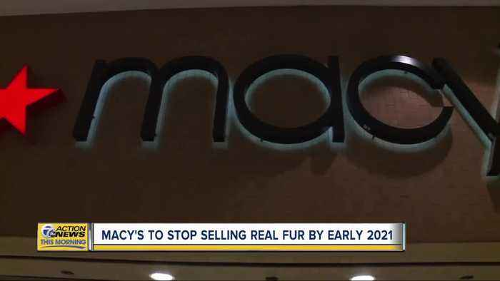 Macy's to stop selling real fur by early 2021
