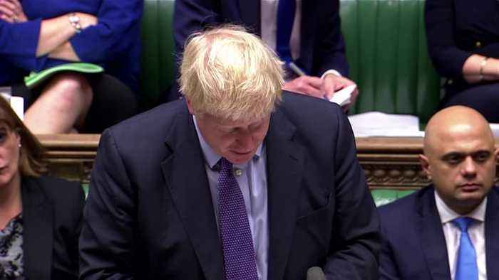 PM Johnson tells lawmakers: pass Brexit deal and Britain can unite again