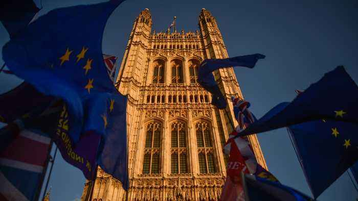 U.K. Parliament Approves Brexit Bill But Rejects Johnson's Timetable