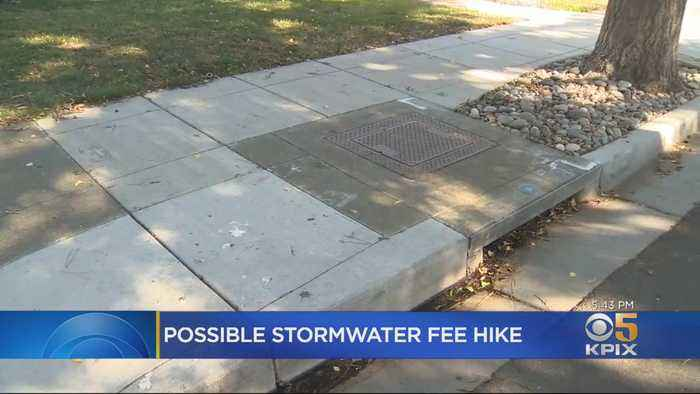 Alameda Residents Facing Spike In Fees For Storm Drain Maintenance