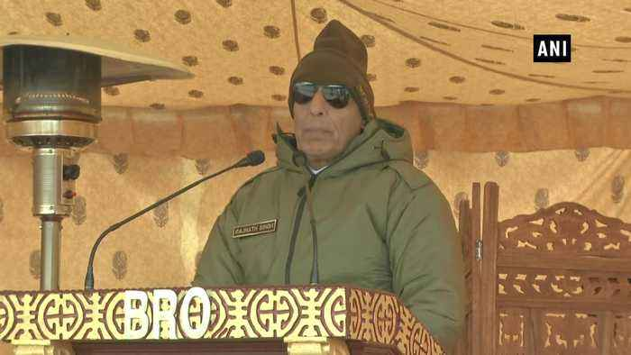 India China handled perceptional differences with great maturity Rajnath Singh
