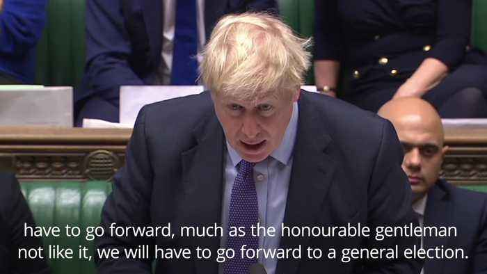 Boris Johnson: I will pull Brexit deal if MPs don't back my plans