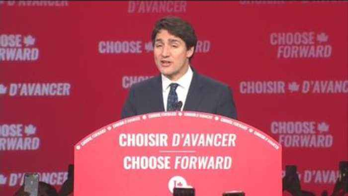 Justin Trudeau to remain in power - but with minority government