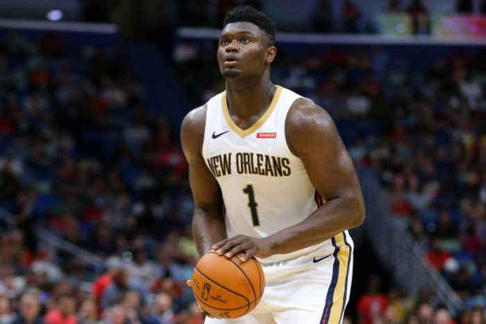 Zion Williamson Out 6-8 Weeks After Knee Surgery