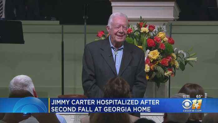 Former President Jimmy Carter Suffers Minor Pelvic Fracture After Falling At Home