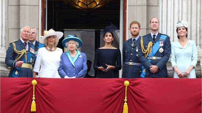 The Queen And Prince William Concerned About Prince Harry And Meghan Markle