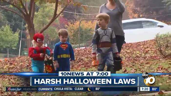 Costumes & Silly String banned on Halloween?