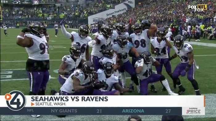 Ravens take down Seahawks in Seattle