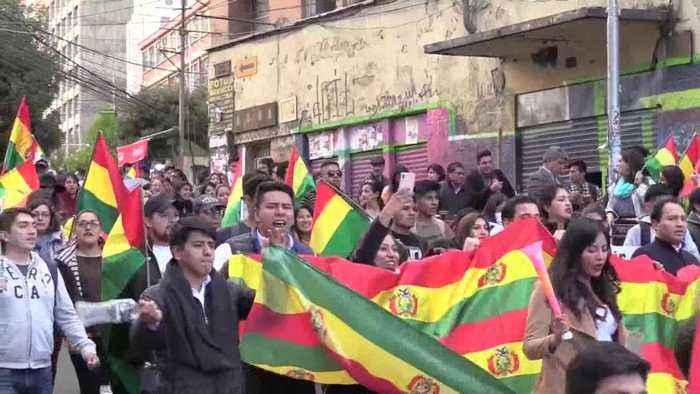 """Evo Morales califica la reacción opositora de """"golpe de Estado"""" en Bolivia"""