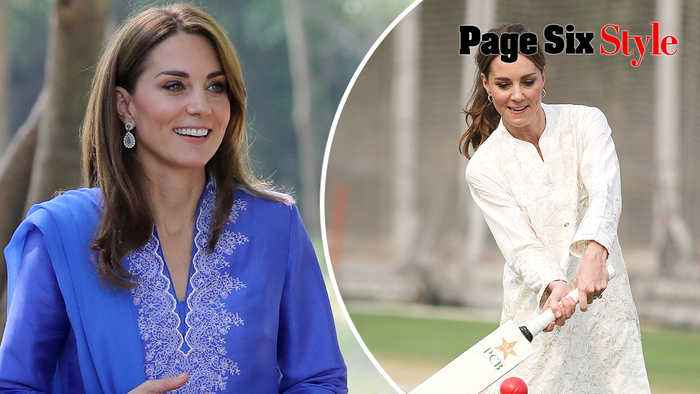 Kate Middleton's best Pakistan tour outfits, from shalwar kameezes to sequin gowns