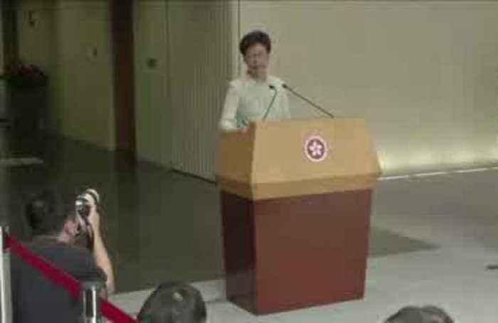 China plans to replace Hong Kong's Lam - FT