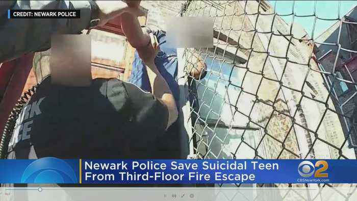 Officers Rescue Distraught 13-Year-Old Boy Threatening To Jump From Newark Building