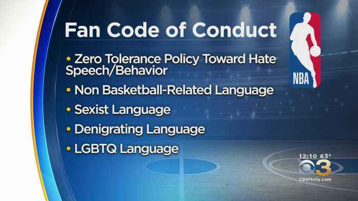 NBA Strengthens Its Code Of Conduct For Fans This Season