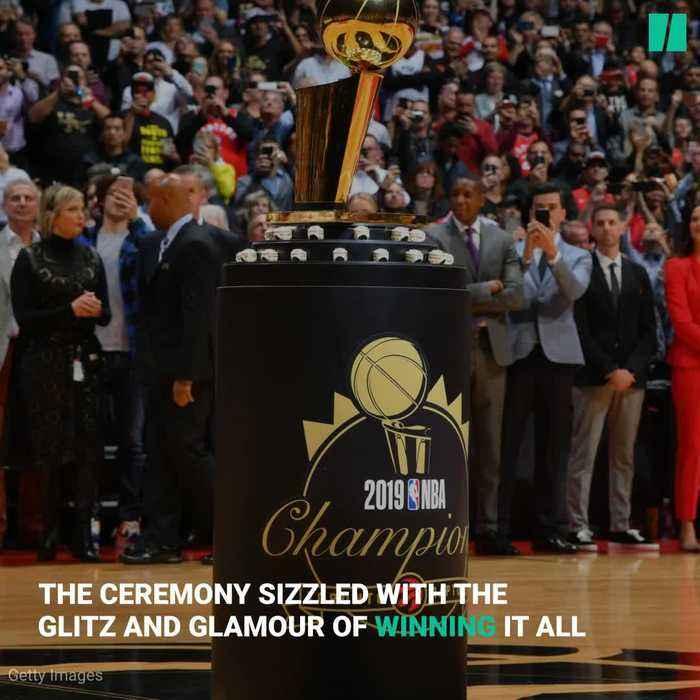 Toronto Raptors NBA Championship Rings Unveiled