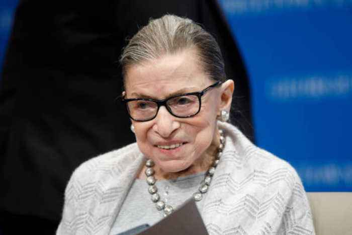 Ruth Bader Ginsburg Awarded $1 Million 'Thinkers' Prize