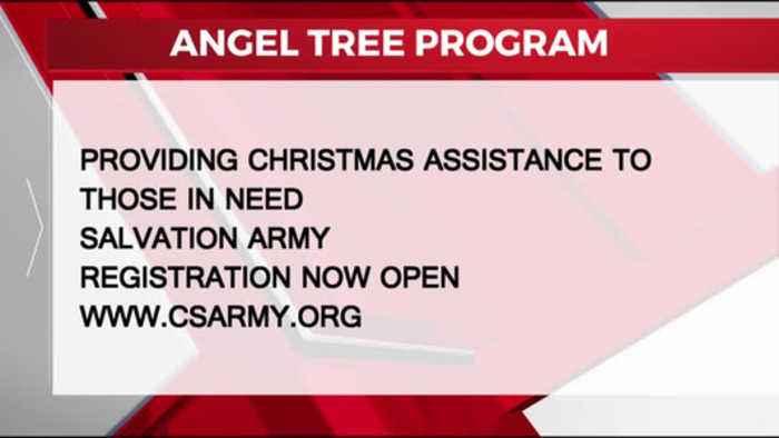 Salvation Army, Angel Tree registration 10-22-2019