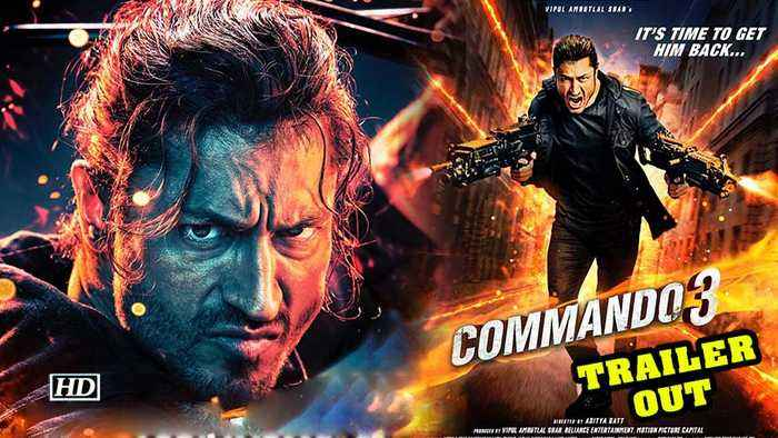 Commando 3 | Vidyut Jammwal shows off death-defying stunts | TRAILER OUT