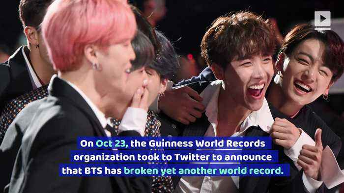 BTS Breaks Another World Record