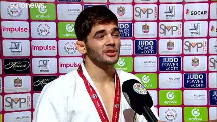 Gold for Kyrgyzbayev at Abu Dhabi Grand Slam opener