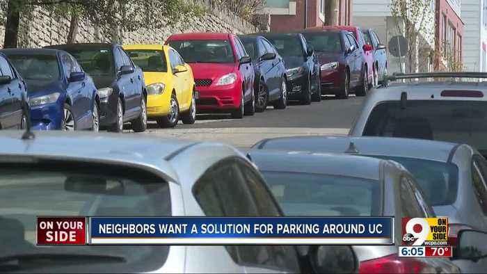 Homeowners near University of Cincinnati caught in parking squeeze, want help