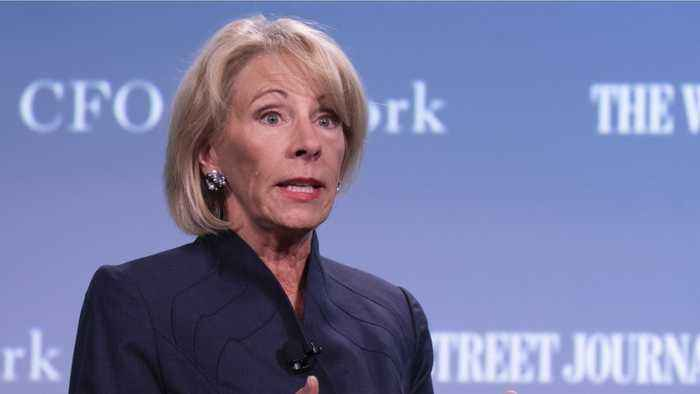 DeVos Held In Contempt By Federal Judge