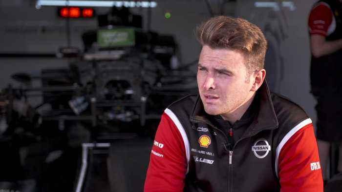 2019:20 ABB FIA Formula E Championship Testing - Interview Oliver Rowland