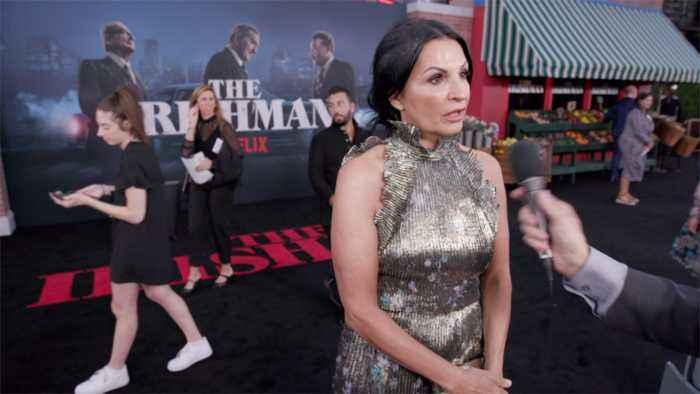 'The Irishman' Premiere: Kathrine Narducci