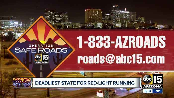 Arizona deadliest state for red-light running