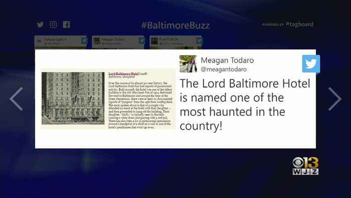 Baltimore Buzz: Lord Baltimore Hotel Named One Of Nation's Most Haunted