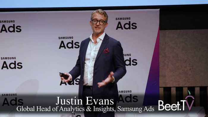 'Platform Surfers' Convert From Combined Linear, OTT: Samsung Ads' Evans Shows Research