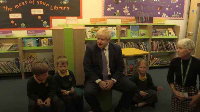 Boris Johnson repeats December election push as EU agrees Brexit extension