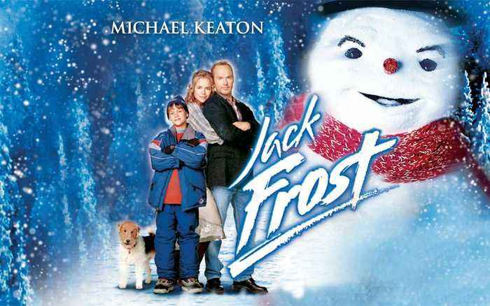 Jack Frost movie (1998) Michael Keaton, Kelly Preston, Joseph Cross