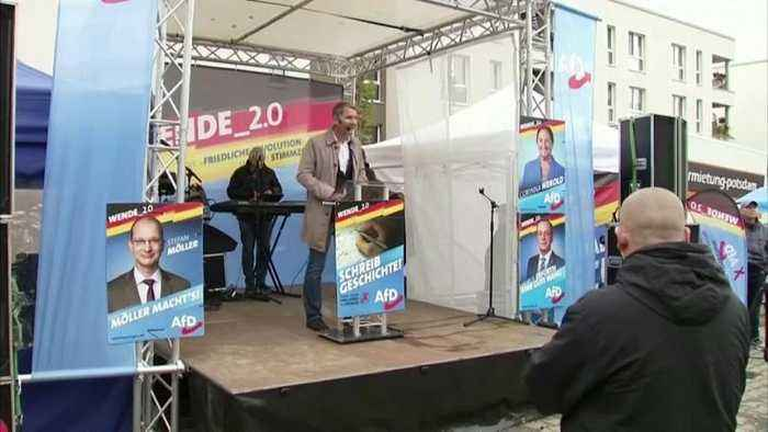 Far-right tipped to make more election gains in former East Germany
