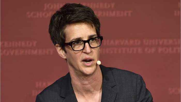 Rachel Maddow Calls Out NBC Handling Of Ronan Farrow's Harvey Weinstein Exposé