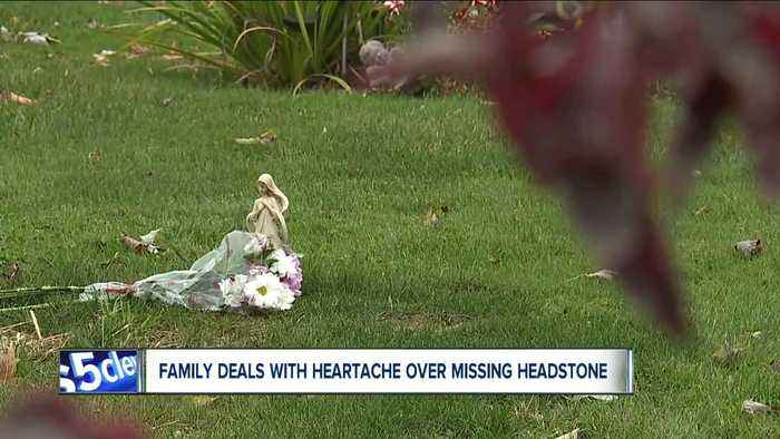 Family's grief deepens after gravestone never arrives at Mogadore cemetery