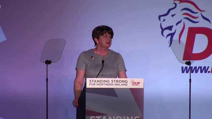 Arlene Foster: DUP cannot vote for Brexit deal until 'one nation' policies secured