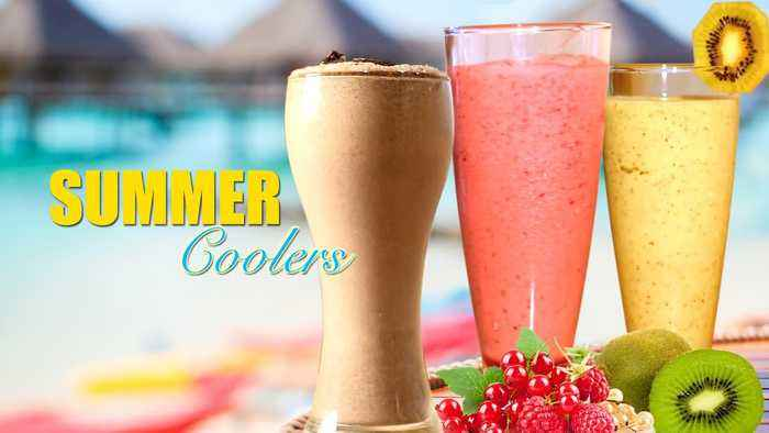 Summer Coolers |  Chilled Refreshing Summer Recipes