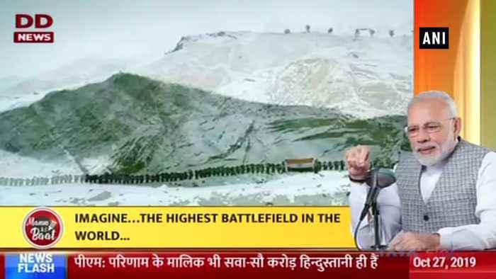 Mann Ki Baat PM Modi lauds 'Clean Siachen' drive by Indian Army