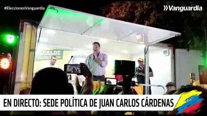 Cárdenas, alcalde de Bucaramanga